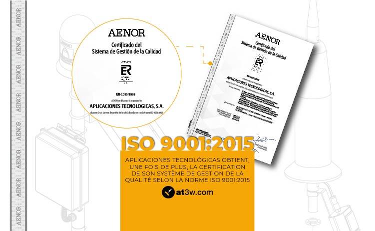 ISO 9001:2015 Aplicaciones Tecnológicas
