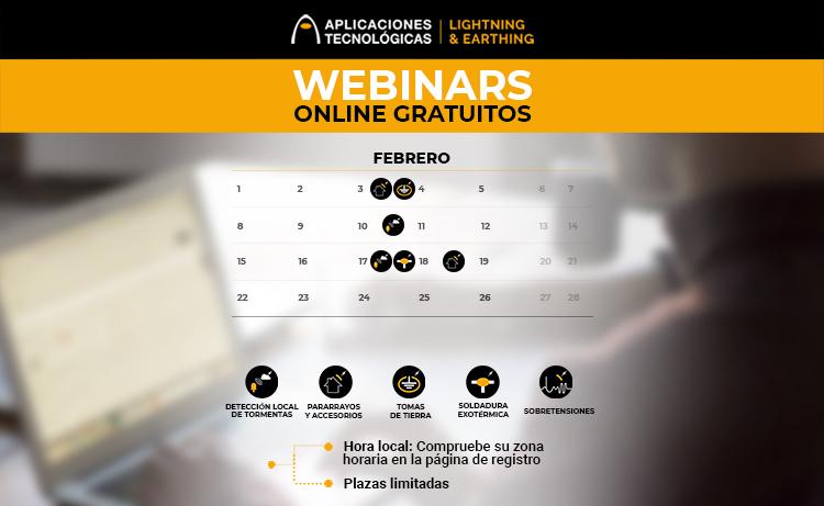 cursos webinars febrero 2021