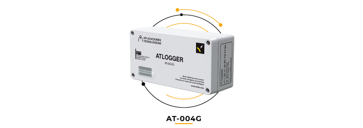 ATLOGGER lightning event counter