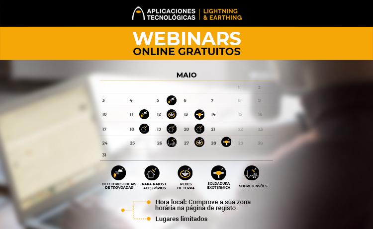 Formações online maio 2021
