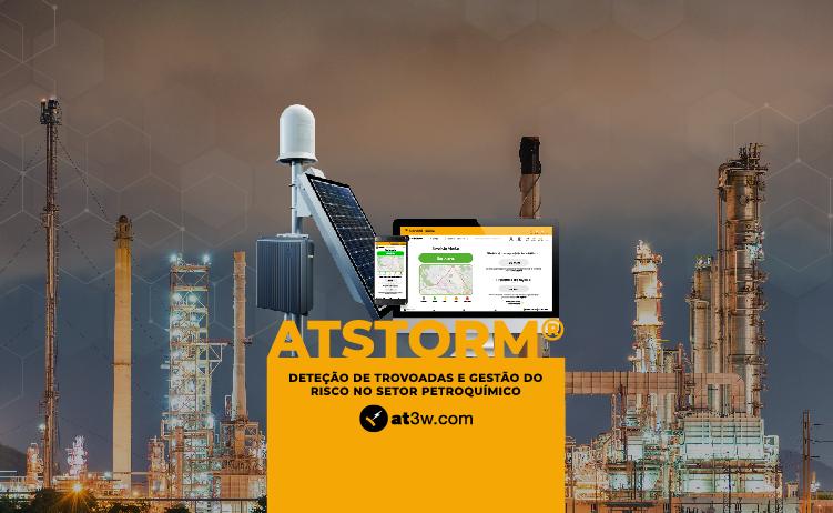 Deteção de trovoadas: gestão avançada do risco no setor petroquímico