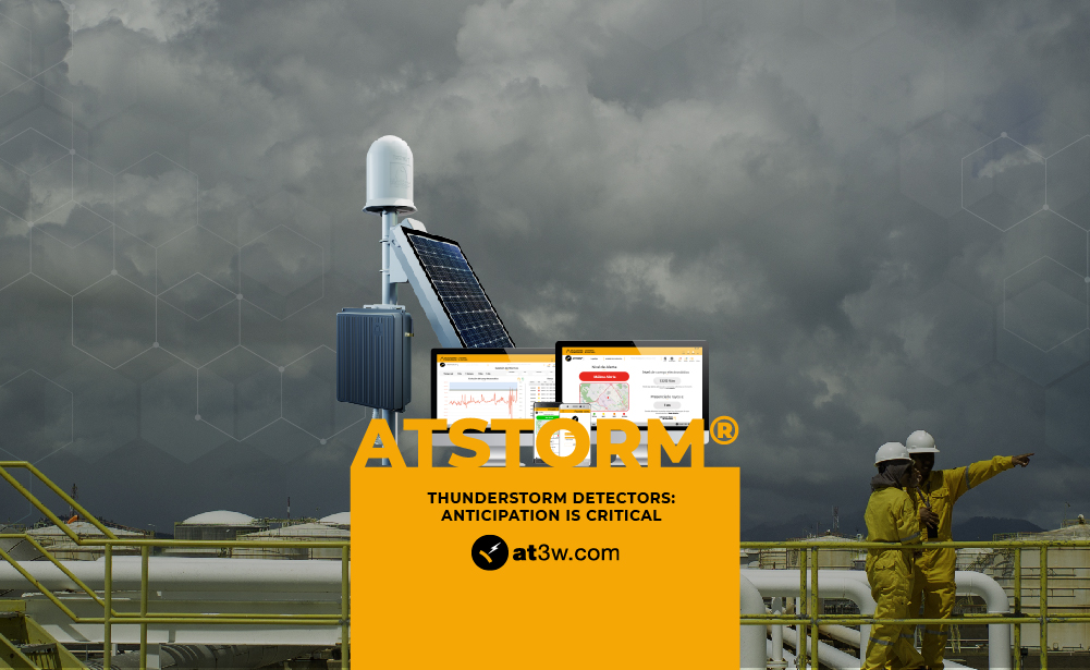 storm detector, lightning strike