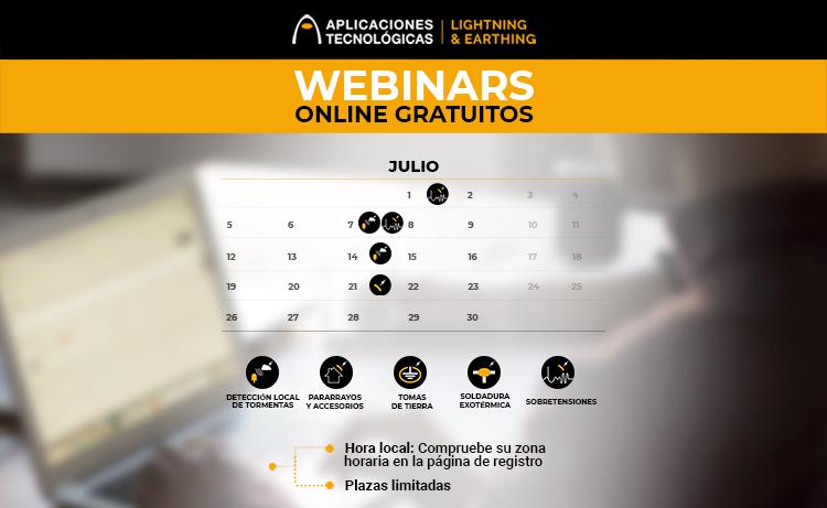 Programación de formaciones online para profesionales: junio y julio de 2021