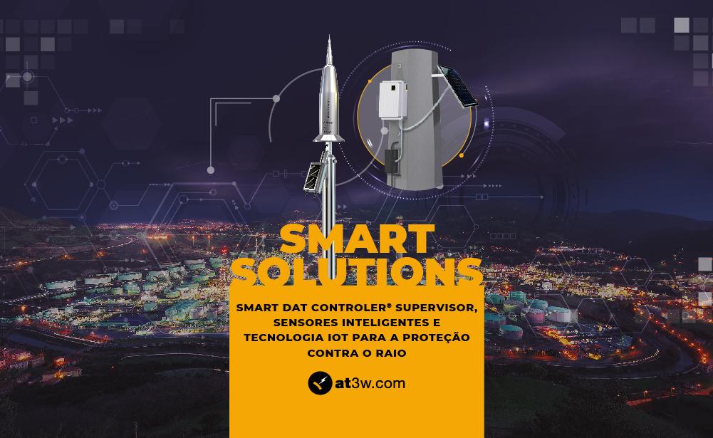 Smart solutions, IoT, para-raios, sistema de proteção contra o raio