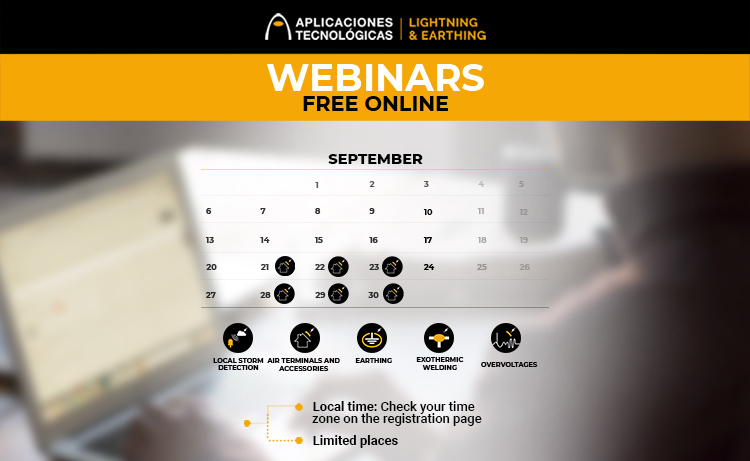 Online webinars free courses formation lightning protection system